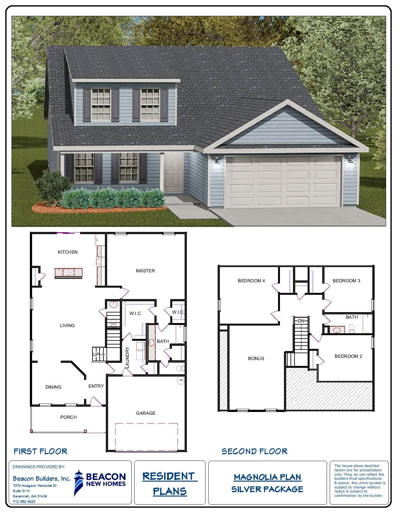 Magnolia Homes Floor Plans Southern Living Custom Builder
